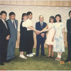 1986_Exchange_program_in_Japan