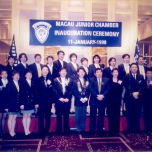 1998_Happy_moment_in_Inauguration_Ceremony