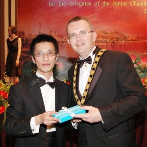2005_JCI_President_Kevin_Cullinane_presented_token_to_President_Richard